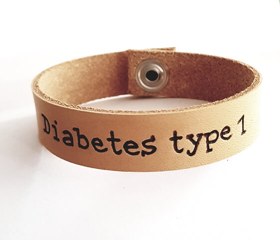 Diabetes of noodarmband