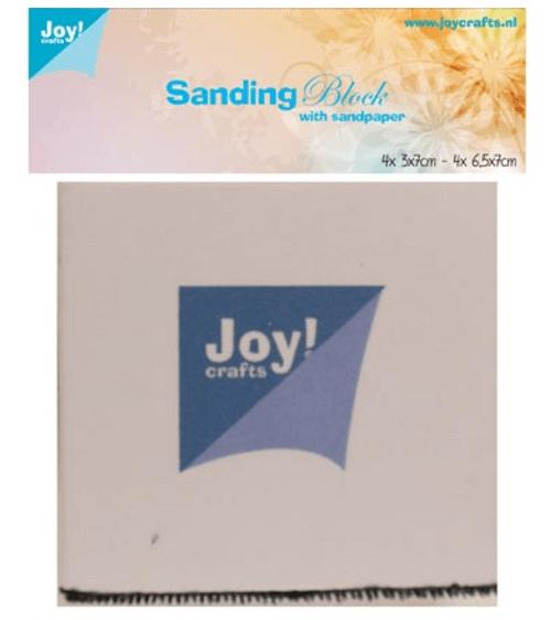 Schuurblokje met schuurpapier