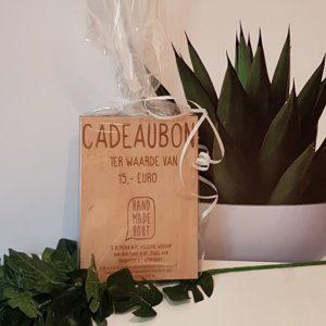 Cadeaubon 15 euro