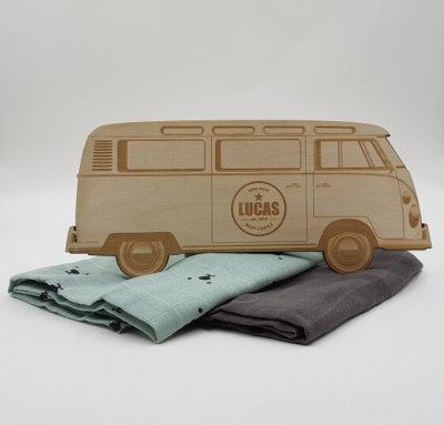 houten camper bus