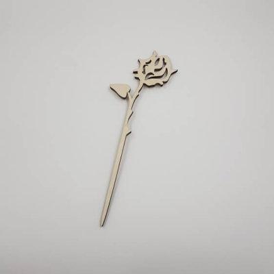 houten roos
