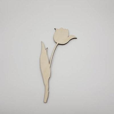 houten tulp