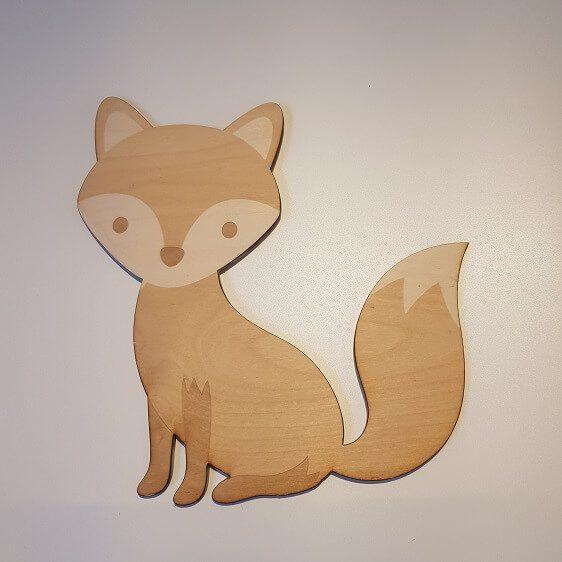 houten vosje
