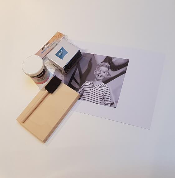 foto op hout workshop