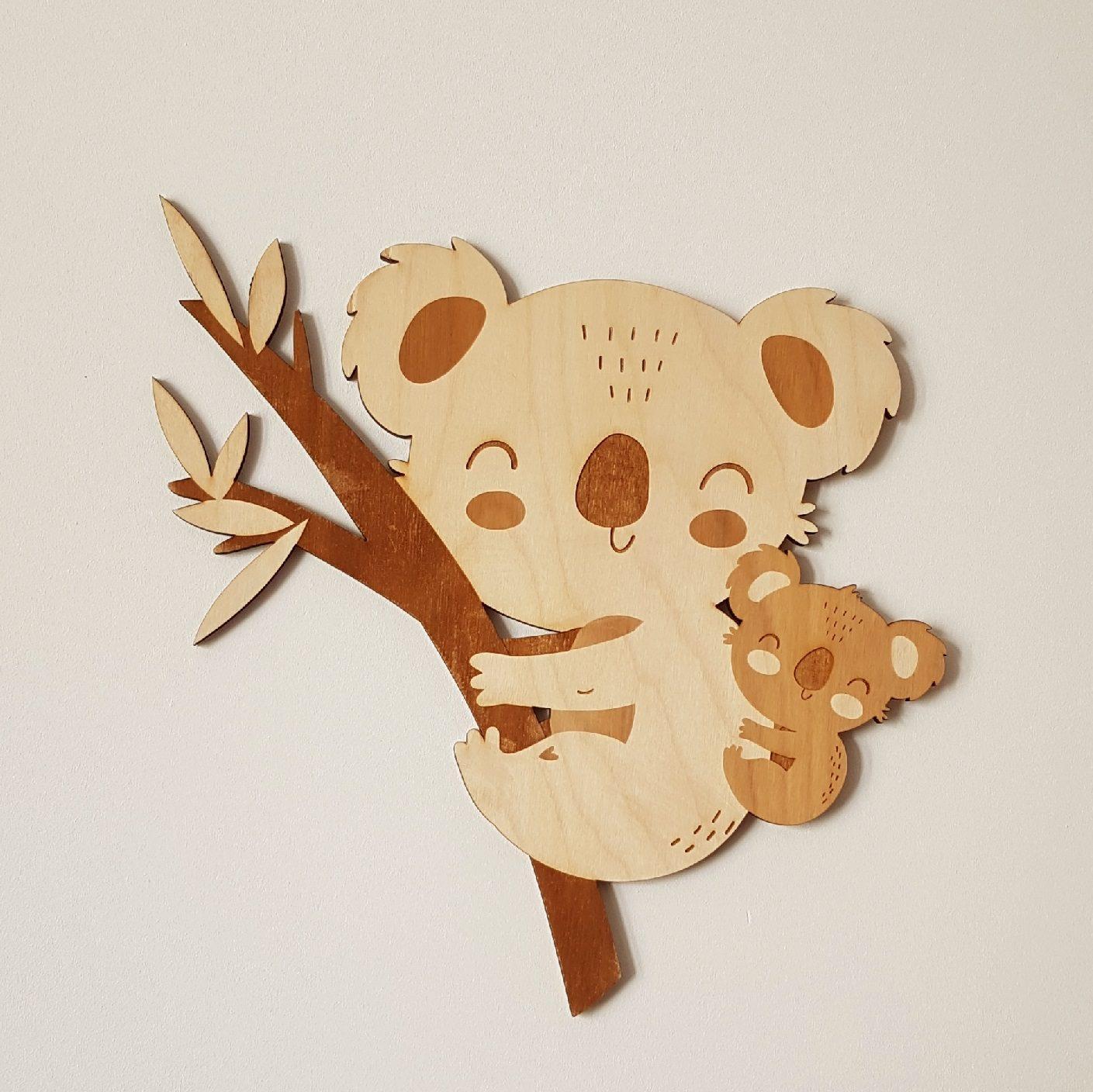 houten koala